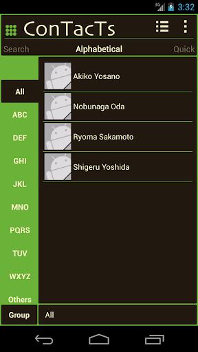 緑好きのための電話帳ConTacTs