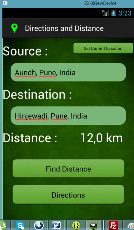 Accurate GPS - screenshot