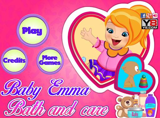 Baby Emma Bath and Care