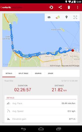 Runtastic Road Bike Tracker 2.2.1 screenshot 37464