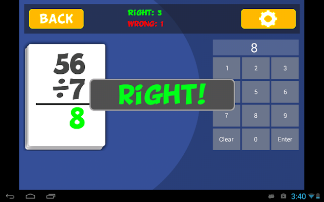 Math Flashcard Pack Lite- screenshot thumbnail