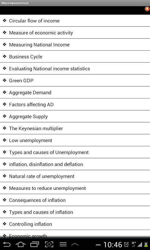 IB Economics - screenshot
