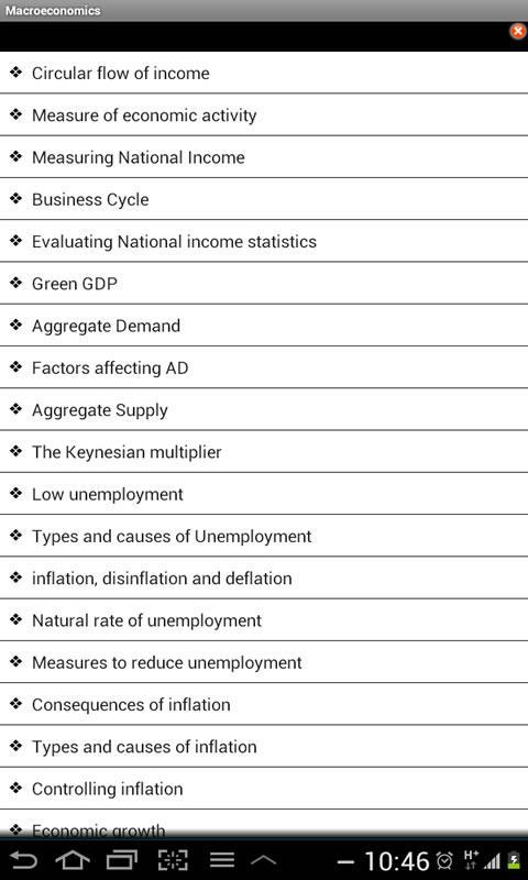IB Economics - screenshot