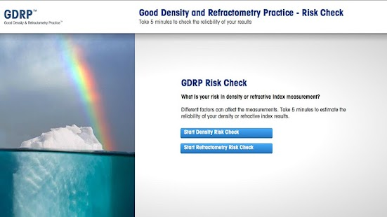 GDRP Risk Check - screenshot thumbnail