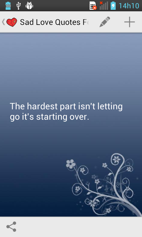 sad love quotes for one sided love is the app that will help you deal ...