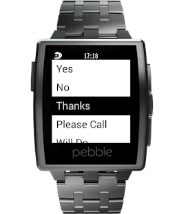 reqallable for Pebble Screenshot 2