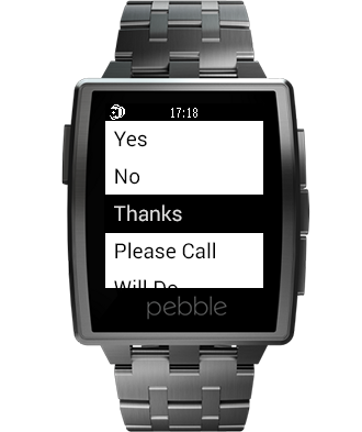 reqallable for Pebble- screenshot