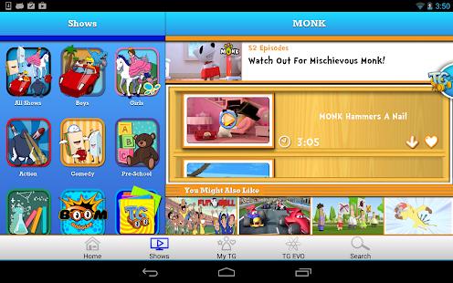 Toon Goggles Cartoons for Kids - screenshot thumbnail