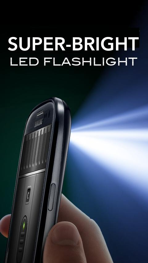 Super-Bright LED Flashlight- screenshot