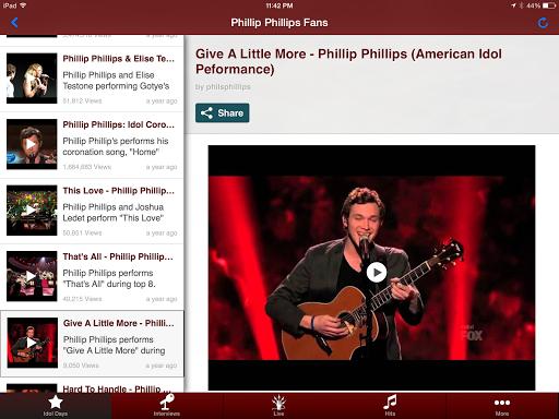 Phillip Phillips Fans FanzApp