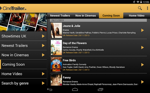 CineTrailer Cinema & Showtimes 4.0.46 screenshots 15
