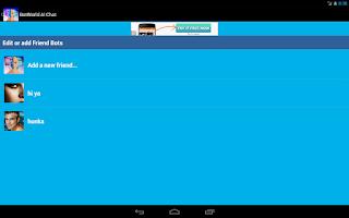 Screenshot of Bot World AI Chat Friend