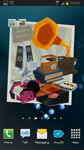 Audio Addict for AppSpace