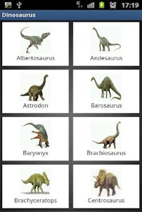 Dinosaur facts and images