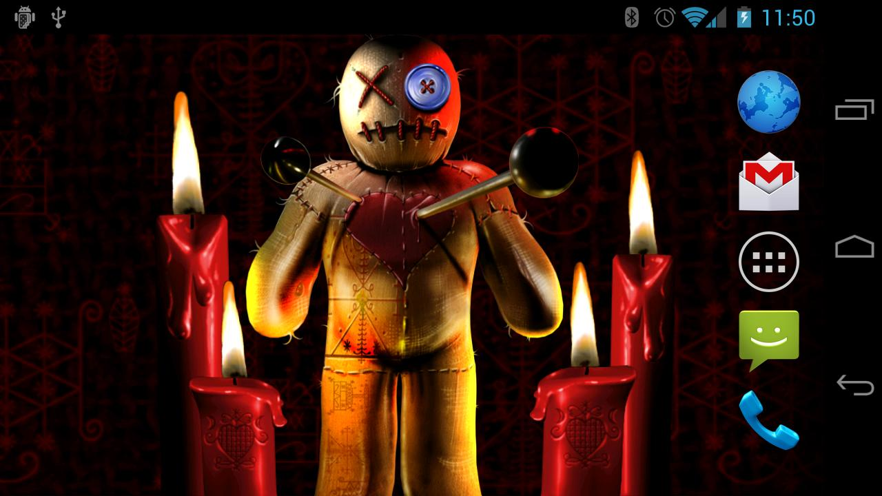 Voodoo Doll Free Wallpaper- screenshot