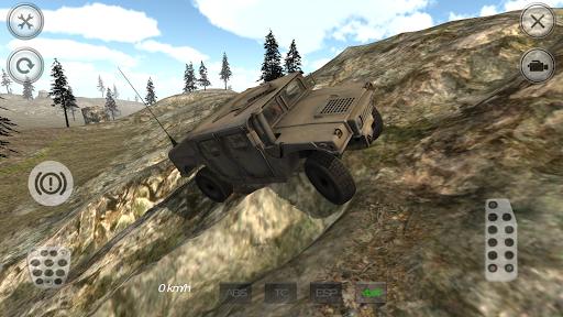 Military 4X4 Mountain Offroad