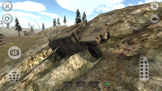 Military 4X4 Mountain Offroad Screenshot