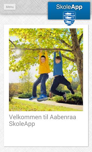 Aabenraa SkoleApp phone