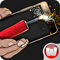 Fireworks Bang New Year icon