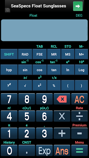 Super Scientific Calculator
