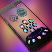 Flat-UI Next Launcher 3D Theme