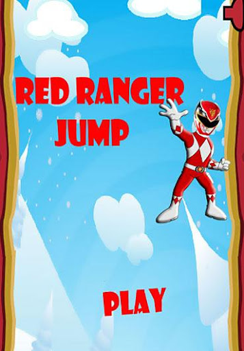 Red Ranger Fast Jump Game