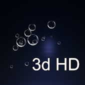 ios7 DarkBubble live wallpaper