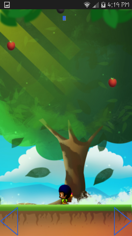 Catching Apples - screenshot