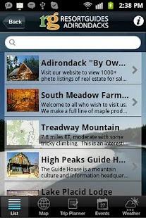 Adirondacks Guide - screenshot thumbnail