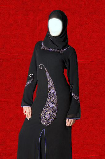 Dubai Woman Abayas Photo Suit