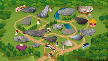 Screenshot of Dinosaur Park Math Lite
