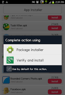 App Installer screenshot