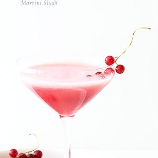 Currant and Lychee Martini Slush.