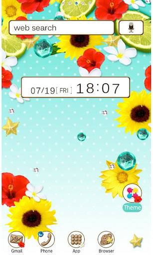 Flower Wallpaper Summer Time! 1.4 Windows u7528 1