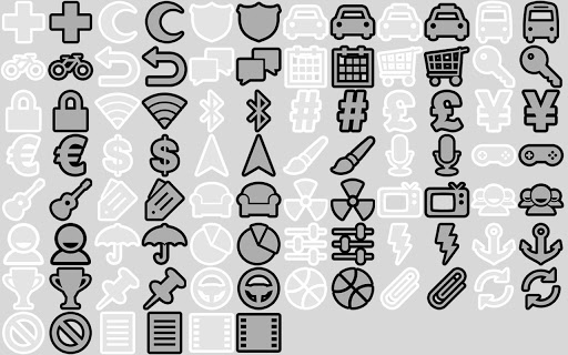 BL Essentials BW Icon Pack