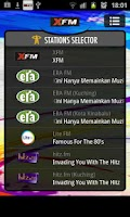 Screenshot of XFM