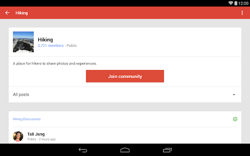 Google+ Screenshot 6