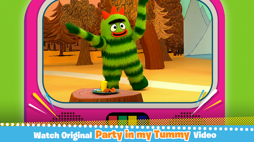 【免費教育App】Yo Gabba Gabba! Tummy Party-APP點子