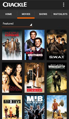Crackle - Movies & TV 4.4.4.6 screenshot 82008