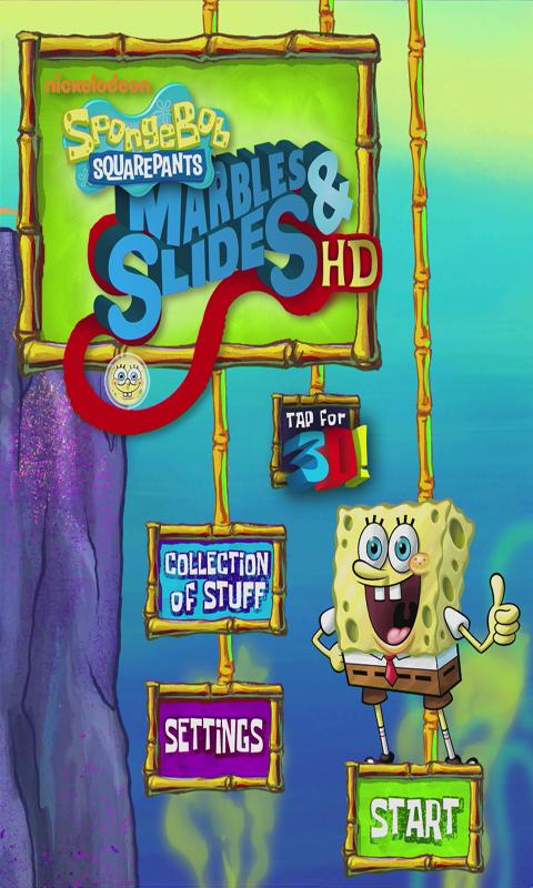 SpongeBob Marbles & Slides - screenshot