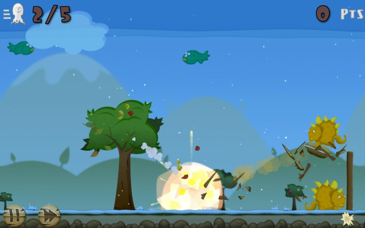 Fruit Rocks Free- screenshot