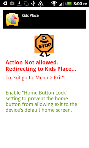21 Kids Place - Parental Control App screenshot
