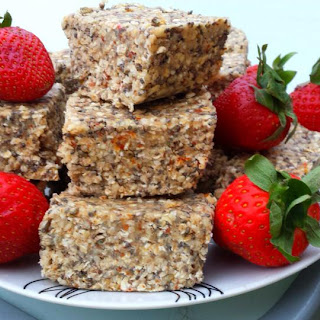 Raw Nutty And Seedy Bars.