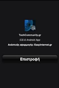 Tech Community- screenshot thumbnail