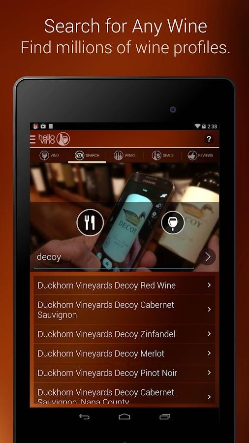 Hello Vino - Wine Assistant - screenshot
