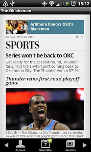 The Oklahoman- screenshot thumbnail