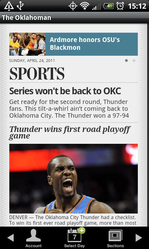 The Oklahoman - screenshot