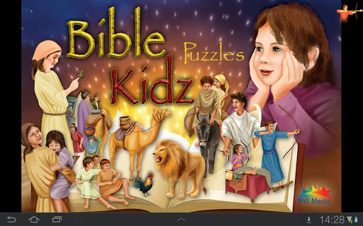 Bible Kidz Puzzles