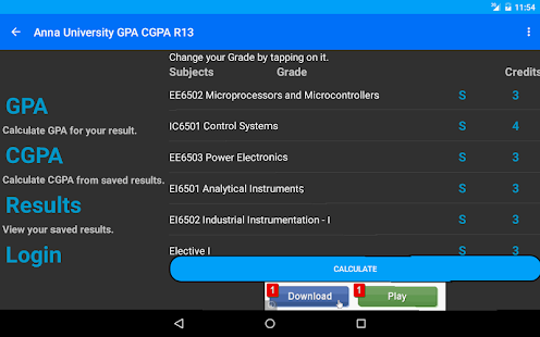 Student's Desk - GPA - CGPA - screenshot thumbnail