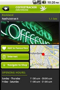 CoffeeTracker Amsterdam - screenshot thumbnail